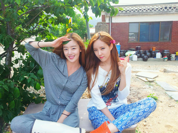 T-ara Hyomin and Secret Sunhwa