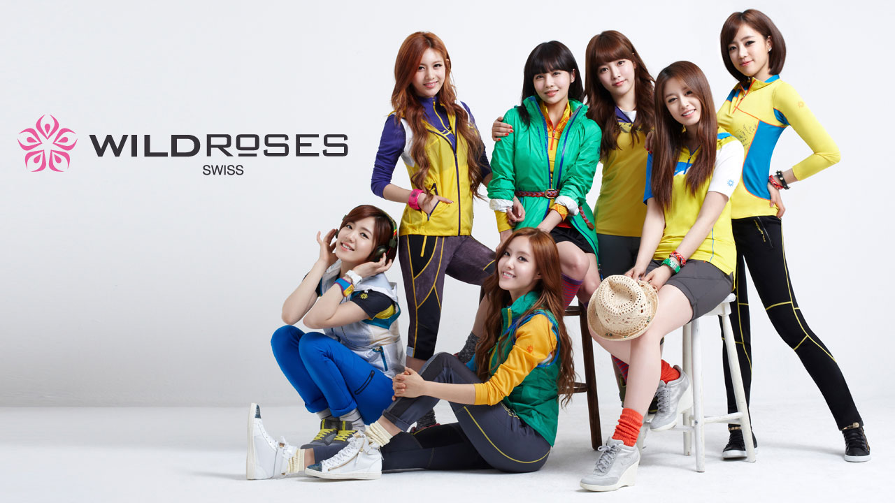 T-ara Wild Roses wallpaper