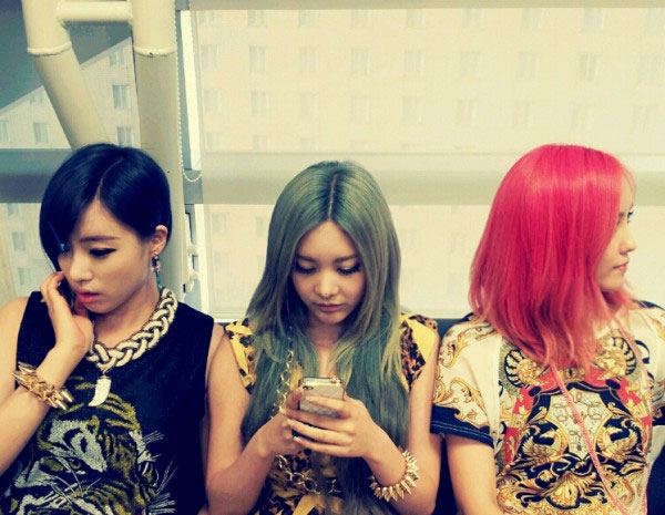 T-ara Eunjung, Qri, Hyomin Day by Day hair color
