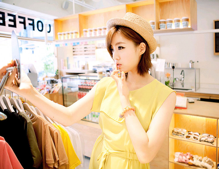 T-ara Eunjung Gmarket Star Shop