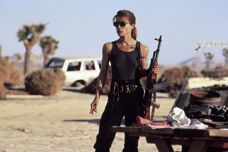 Terminator 2 Sarah Connor Linda Hamilton