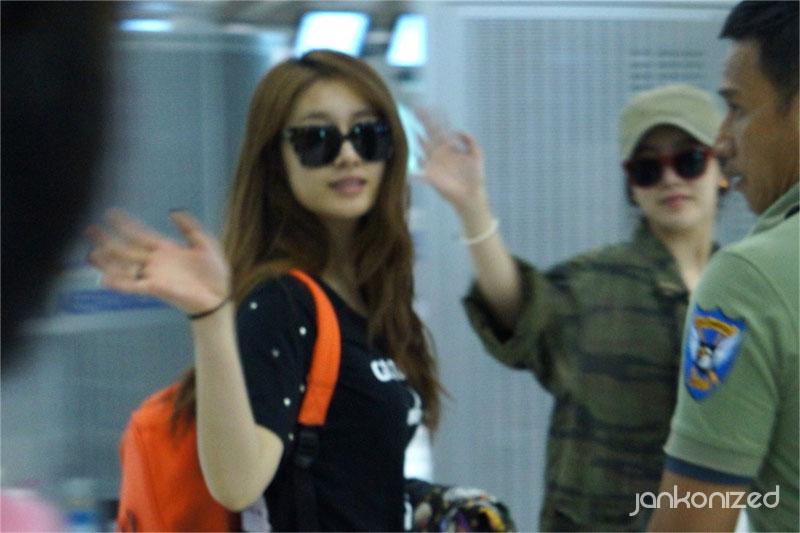 T-ara Jiyeon Thailand airport