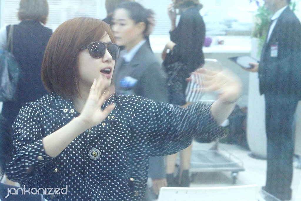 T-ara Eunjung Thailand airport