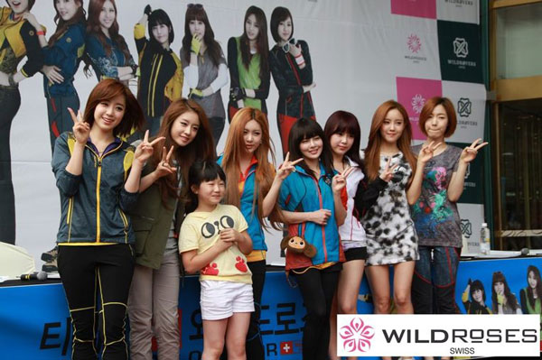 T-ara members Wild Roses fan signing event