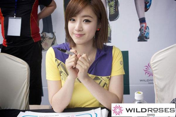 T-ara Eunjung Wild Roses fan signing event