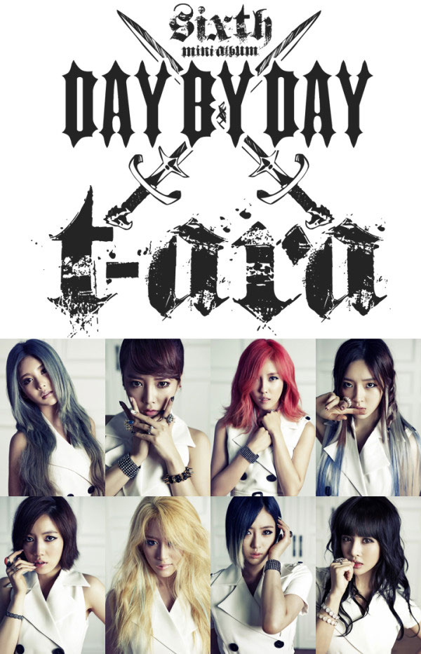 T-ara Day By Day Korean mini album