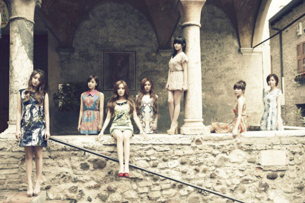 T-ara members Europe trip