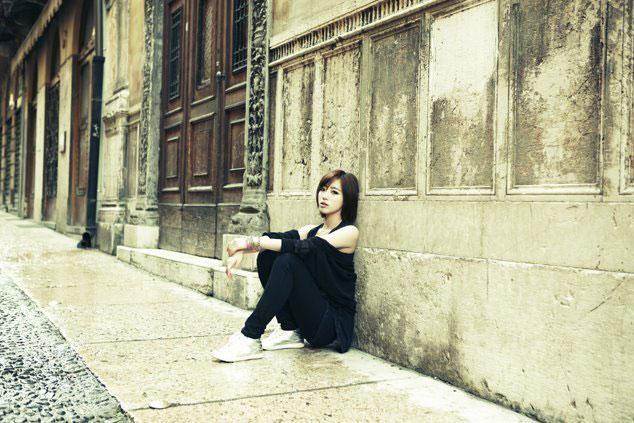 T-ara Eunjung Europe trip