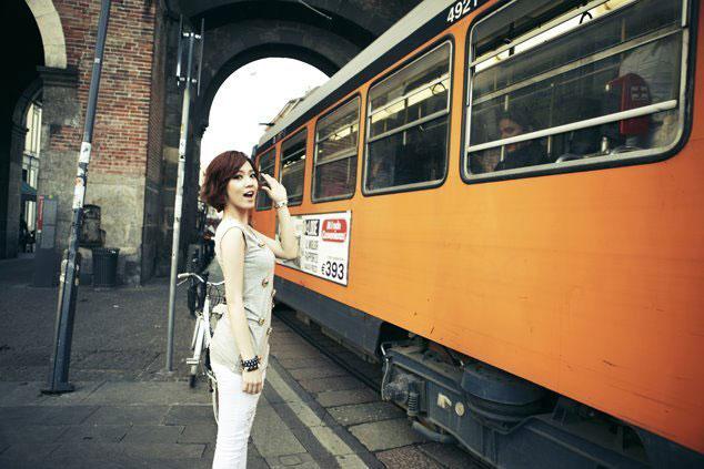 T-ara Hwayoung Europe trip
