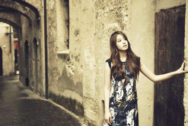 T-ara Jiyeon Europe trip