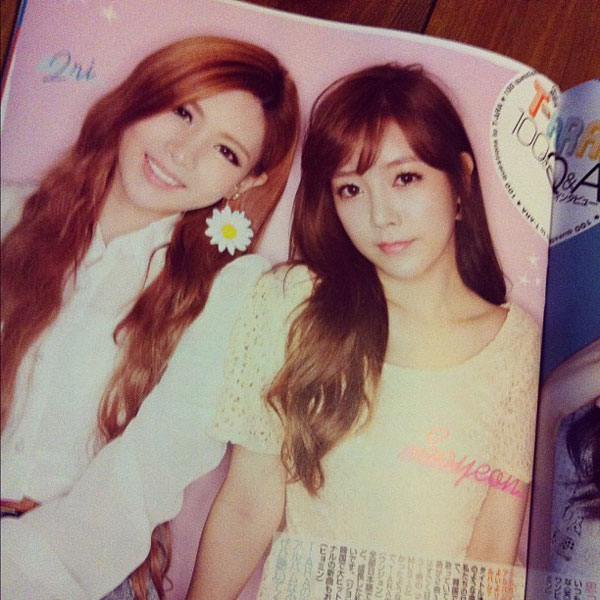 T-ara Japanese Nikki Magazine
